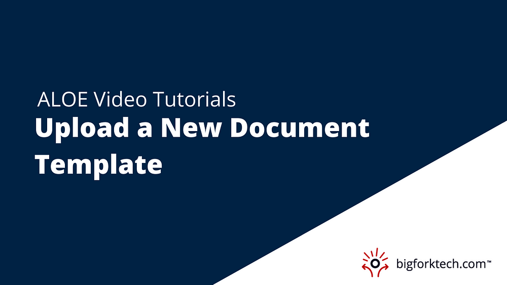 Upload a New Document Template Image