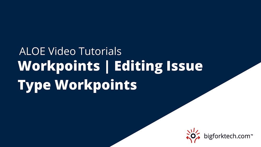 Workpoints | Editing Issue Type Workpoints Image