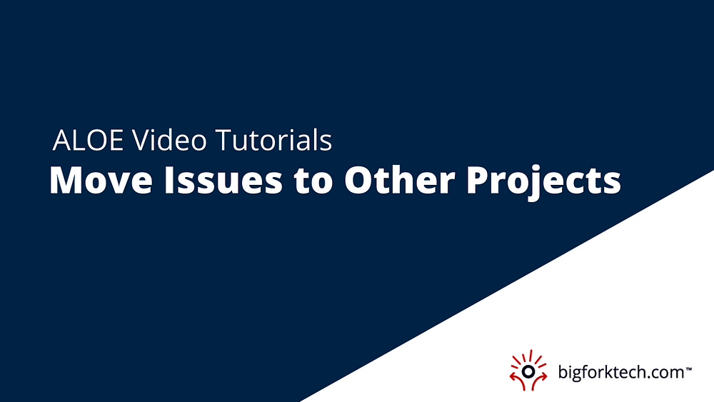 Move Issues to Other Projects Image