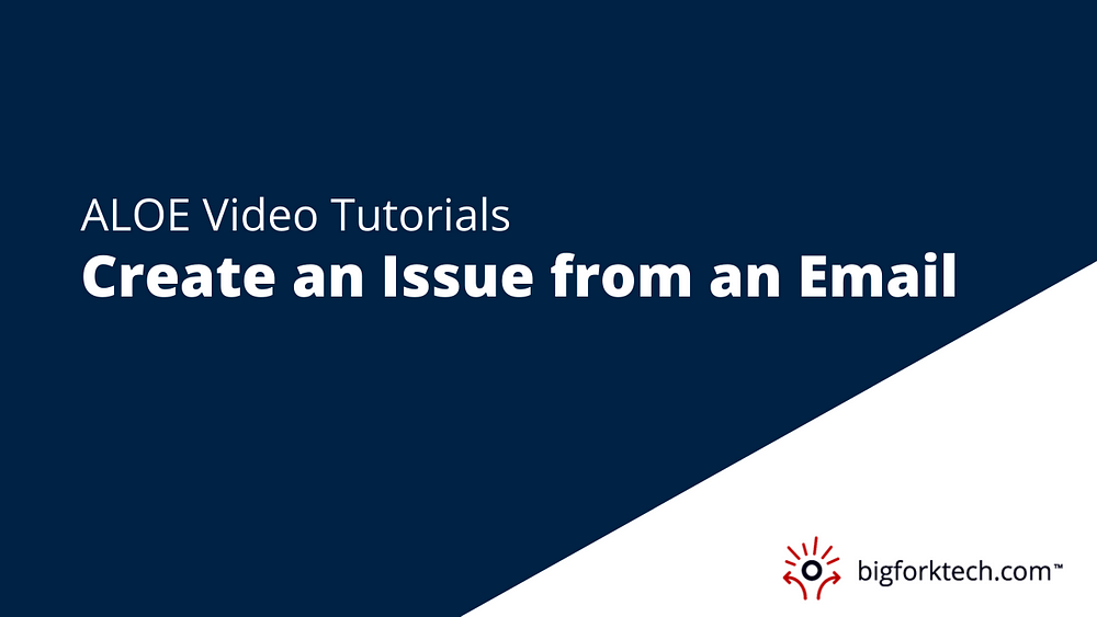 Create an Issue from an Email Image